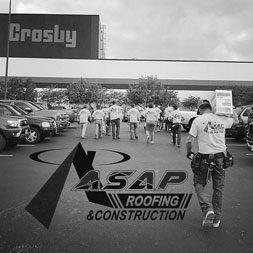 Yes, we do commercial roofing projects