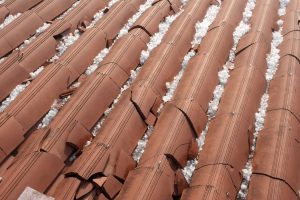 Damage to your roof can be caused by hail stones.